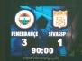 04 Mart 2009  Fenerbahçe 3-1 Sivasspor  (Türkiye Kupası Yarı Final İlk Karşılaşması)