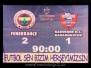 05 Aralık 2010  Fenerbahçe 2-1 Kardemir Karabükspor  (Süper Lig 15\'inci Hafta Karşılaşması)