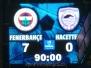 14 Şubat 2009  Fenerbahçe 7-0 Hacettepe  (Süper Lig 20\'nci Hafta Karşılaşması)