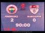 24 Mart 2010  Fenerbahçe 2-0 Manisaspor  (Ziraat Türkiye Kupası Çeyrek Final İlk Karşılaşması)