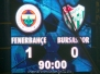 28 Ocak 2009  Fenerbahçe 1-0 Bursaspor  (Türkiye Kupası Çeyrek Final Karşılaşması)