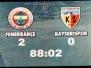 4 Nisan 2010  Fenerbahçe 2-0 Kayserispor  (Süper Lig 28\'inci Hafta Karşılaşması)