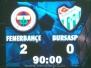7 Ocak 2009  Fenerbahçe 2-0 Bursaspor  (Türkiye Kupası Grup Karşılaşması)